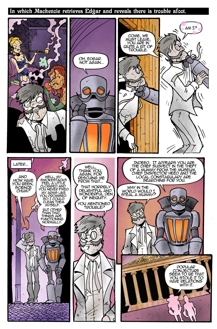 Gentleman Scientists! #1 Page 2