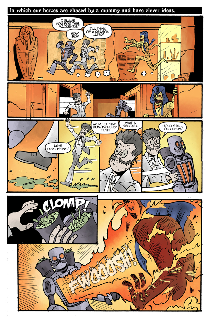 Gentleman Scientists! #1 Page 6