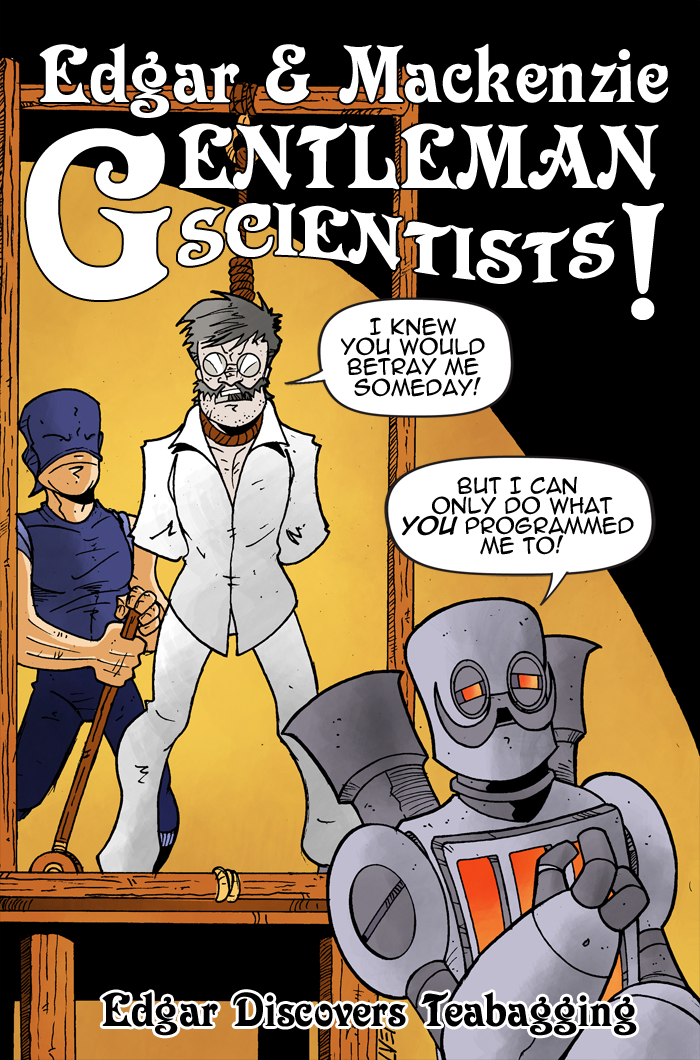 Gentleman Scientists! #2 Cover
